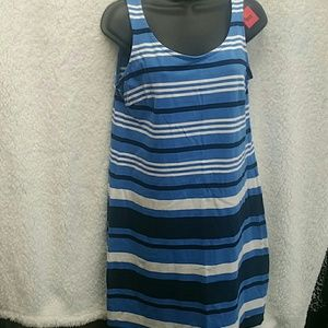 Tommy Hilfiger Blue and white tank top Dress